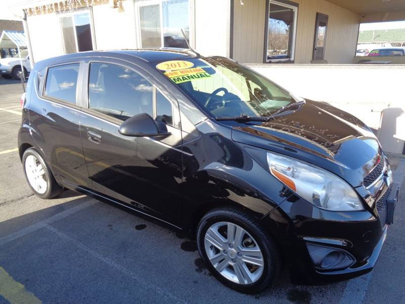 2013 Chevrolet Spark for sale at BBL Auto Sales in Yakima WA