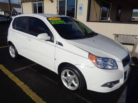2009 Chevrolet Aveo for sale at BBL Auto Sales in Yakima WA