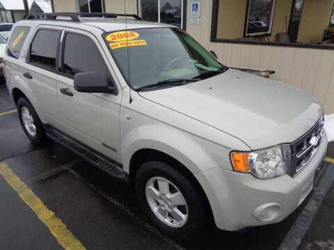 2008 Ford Escape for sale at BBL Auto Sales in Yakima WA