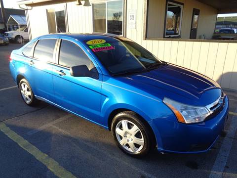 2010 Ford Focus for sale at BBL Auto Sales in Yakima WA