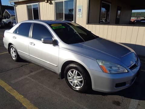 2006 Honda Accord for sale at BBL Auto Sales in Yakima WA