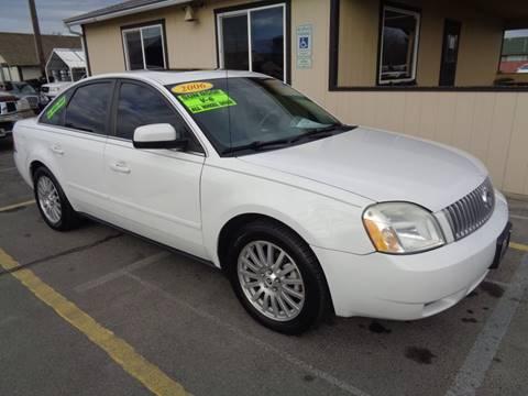 2006 Mercury Montego for sale at BBL Auto Sales in Yakima WA