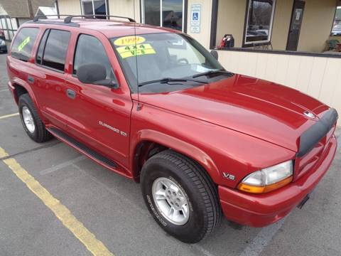 1999 Dodge Durango for sale at BBL Auto Sales in Yakima WA