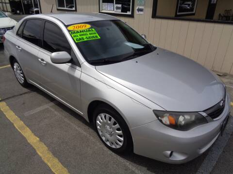 2009 Subaru Impreza for sale at BBL Auto Sales in Yakima WA