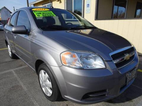 2011 Chevrolet Aveo for sale at BBL Auto Sales in Yakima WA