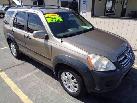 2006 Honda CR-V for sale at BBL Auto Sales in Yakima WA
