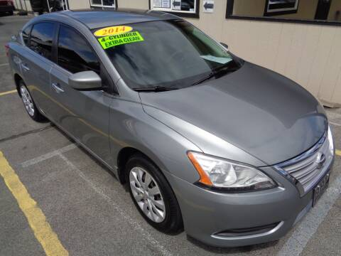 2014 Nissan Sentra for sale at BBL Auto Sales in Yakima WA