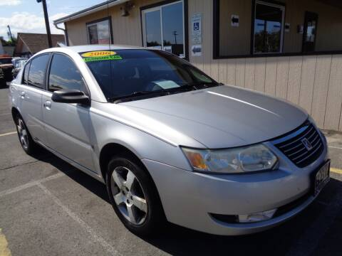 2006 Saturn Ion for sale at BBL Auto Sales in Yakima WA