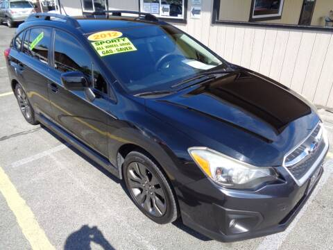 2012 Subaru Impreza for sale at BBL Auto Sales in Yakima WA
