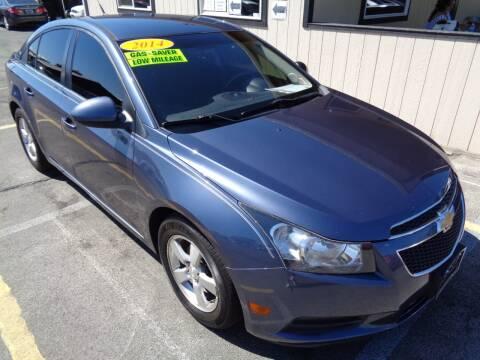 2014 Chevrolet Cruze for sale at BBL Auto Sales in Yakima WA