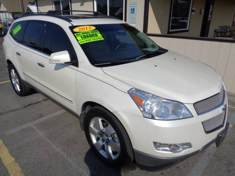 2012 Chevrolet Traverse for sale at BBL Auto Sales in Yakima WA