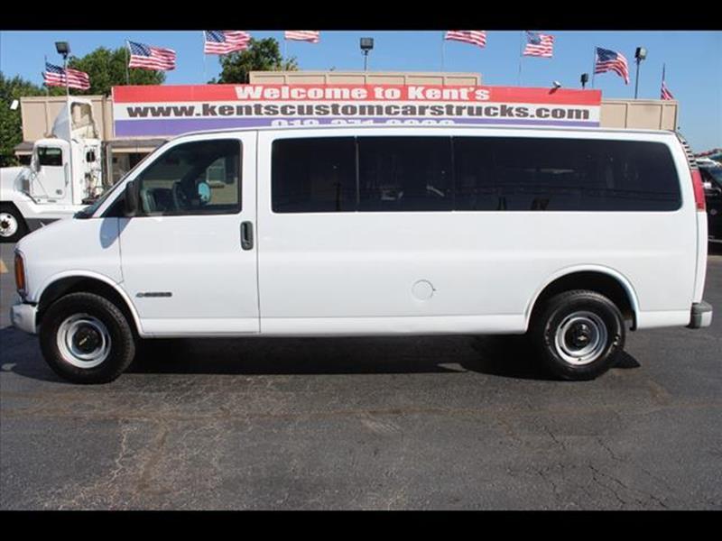 2001 Chevrolet Express Passenger G3500 3dr 15 Van