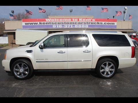 2010 Cadillac Escalade ESV for sale in Collinsville, OK