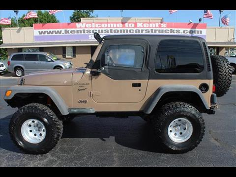 2000 Jeep Wrangler for sale in Collinsville, OK