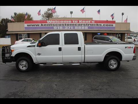 2011 Ford F-250 Super Duty for sale at Kents Custom Cars and Trucks in Collinsville OK