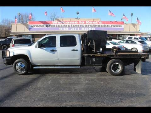 2011 GMC Sierra 3500HD CC for sale at Kents Custom Cars and Trucks in Collinsville OK