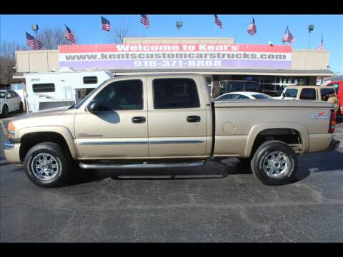 2005 GMC Sierra 2500HD for sale at Kents Custom Cars and Trucks in Collinsville OK