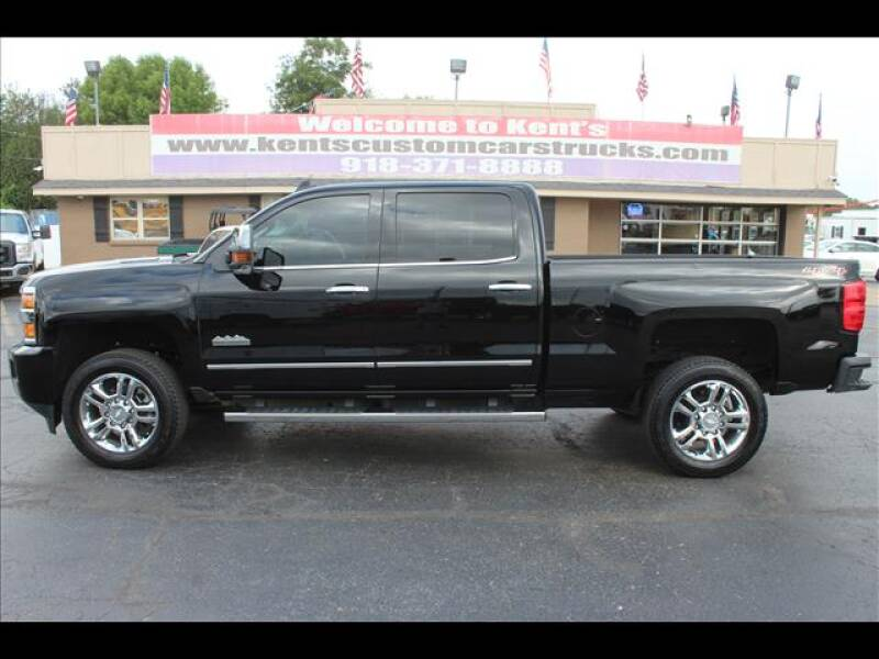 2015 Chevrolet Silverado 2500HD for sale at Kents Custom Cars and Trucks in Collinsville OK