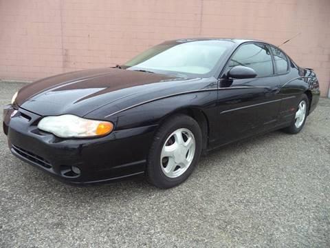 2001 Chevrolet Monte Carlo for sale in Charlotte, MI