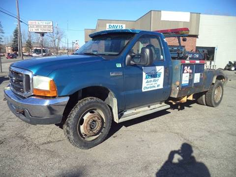 2001 Ford F-550 Super Duty for sale in Charlotte, MI