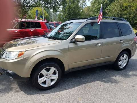 2009 Subaru Forester for sale at Ed Davis LTD in Poughquag NY