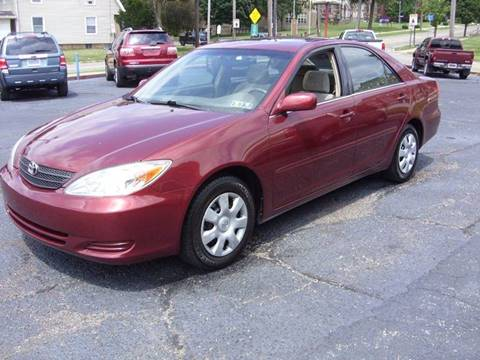2002 Toyota Camry for sale in Massillon, OH