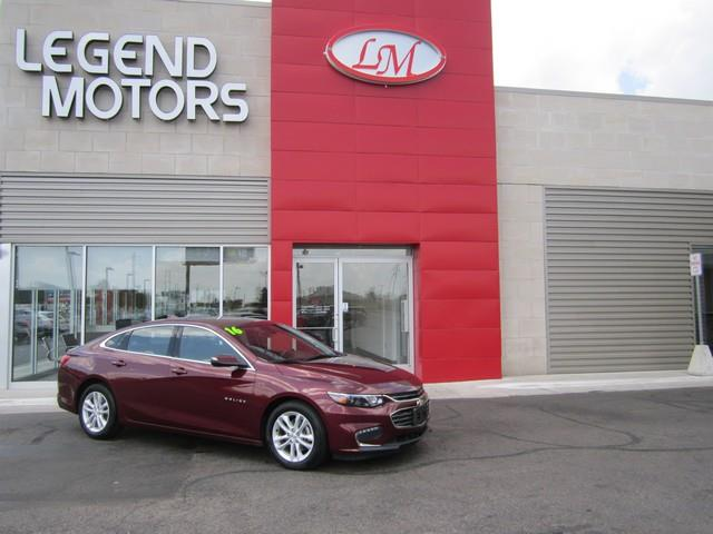 2016 Chevrolet Malibu  Miles 18792Color RED Stock 7531C VIN 1G1ZE5ST6GF261341