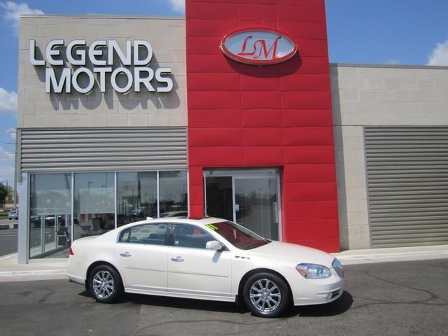 2011 Buick Lucerne  Miles 81088Color WHITE Stock 7539C VIN 1G4HJ5EM9BU151662