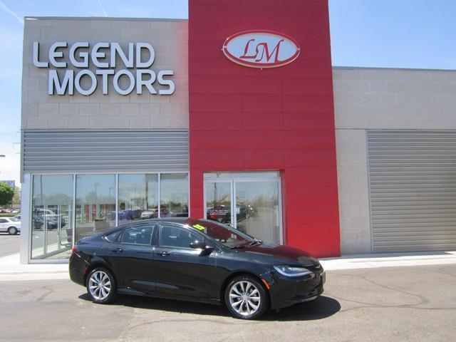 2015 Chrysler 200  Miles 41877Color BLACK Stock 7536C VIN 1C3CCCBB4FN758704