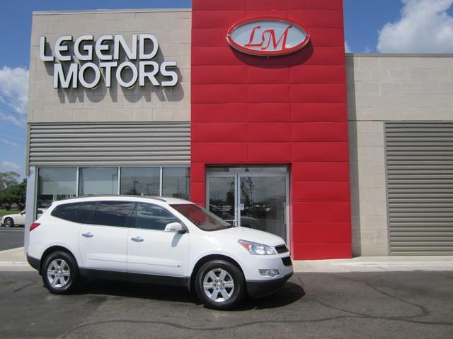 2010 Chevrolet Traverse  Miles 91842Color WHITE Stock 7546C VIN 1GNLVFED3AS149710