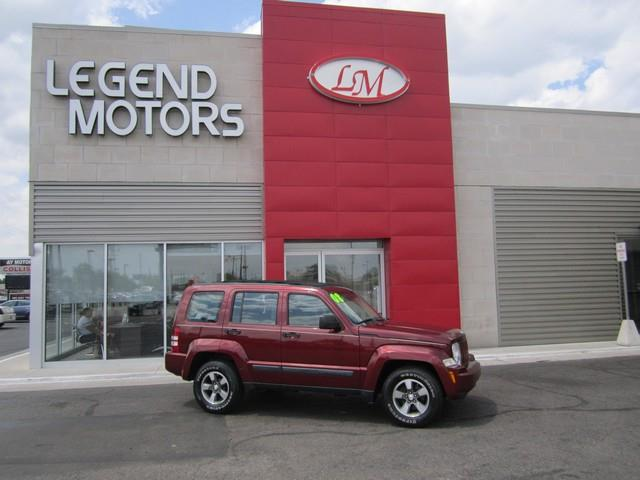 2008 Jeep Liberty  Miles 98799Color RED Stock 7548C VIN 1J8GN28K48W227016