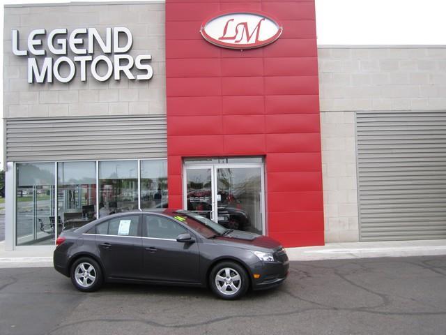 2014 Chevrolet Cruze  Miles 93973Color GRAY Stock 7589C VIN 1G1PC5SB1E7261128