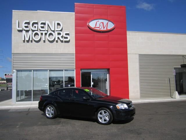 2013 Dodge Avenger  Miles 75197Color BLACK Stock 7601C VIN 1C3CDZAB4DN644801