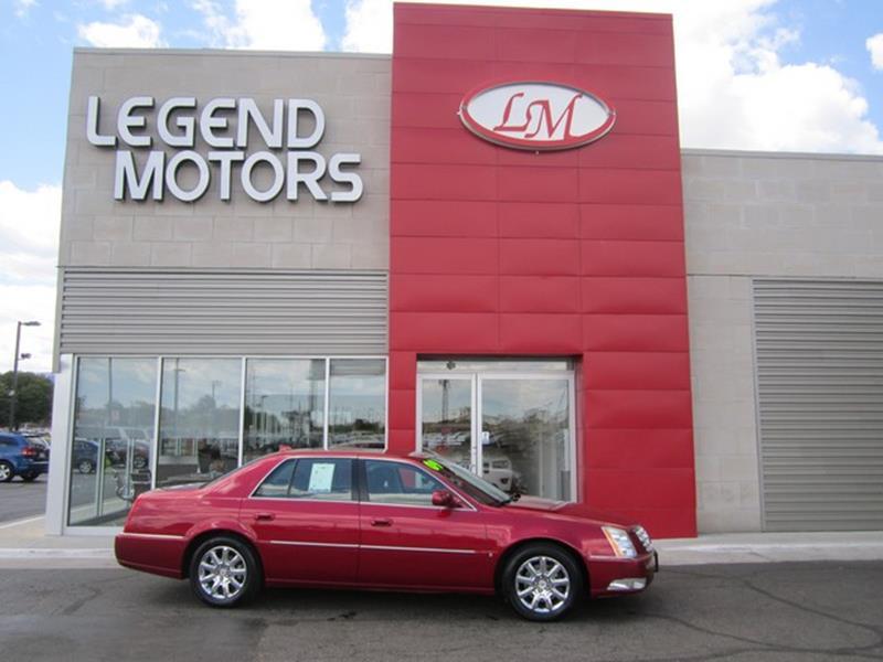2009 Cadillac Dts  Miles 97853Color RED Stock 7614C VIN 1G6KD57Y99U135055