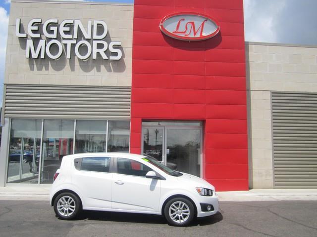 2014 Chevrolet Sonic  Miles 94727Color WHITE Stock 7617C VIN 1G1JC6SH0E4111786