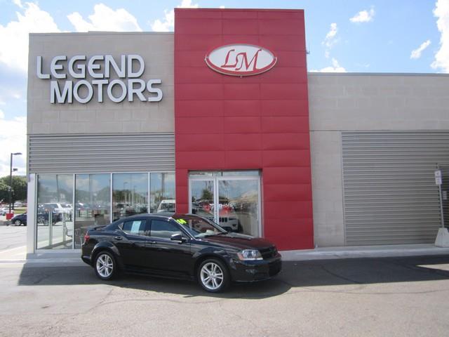 2014 Dodge Avenger  Miles 57408Color BLACK Stock 7633C VIN 1C3CDZAB3EN173645