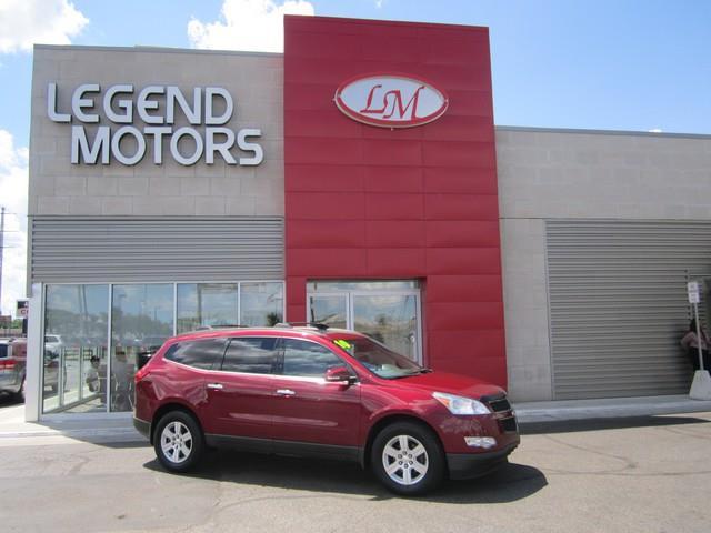 2010 Chevrolet Traverse  Miles 97299Color RED Stock 7622C VIN 1GNLVFED4AJ241656
