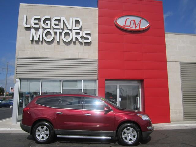2011 Chevrolet Traverse  Miles 63718Color RED Stock 7639C VIN 1GNKRGED6BJ177109