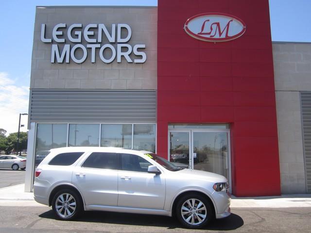 2012 Dodge Durango  Miles 33686Color SILVER Stock 7646C VIN 1C4SDJCT4CC105992