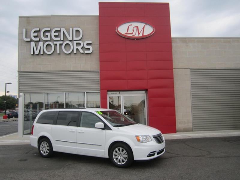2012 Chrysler Town  Country  Miles 110384Color SILVER Stock 7660C VIN 2C4RC1BG8CR374901