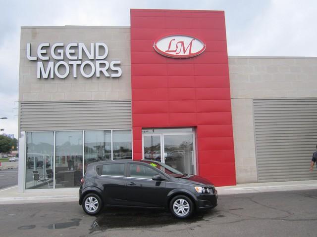 2014 Chevrolet Sonic  Miles 107889Color BLACK Stock 7664C VIN 1G1JC6SB8E4231055