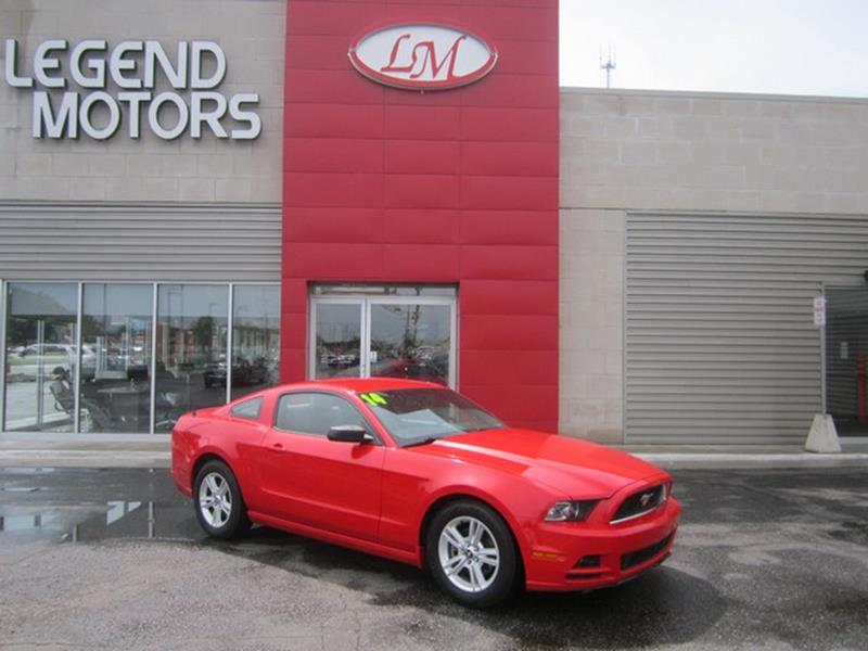 2014 Ford Mustang  Miles 69388Color RED Stock 7666C VIN 1ZVBP8AM9E5236142