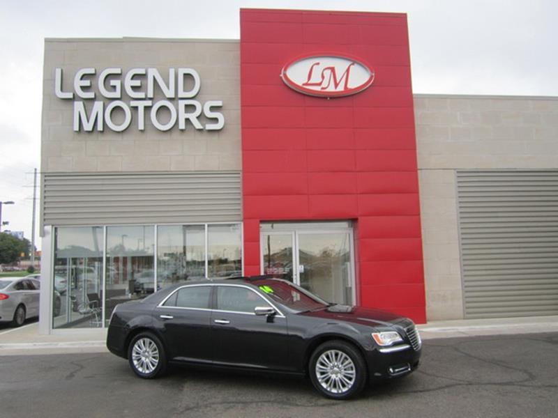 2014 Chrysler 300  Miles 68255Color BLACK Stock 7687C VIN 2C3CCAKT1EH201687