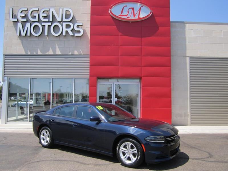 2015 Dodge Charger  Miles 37160Color BLUE Stock 7700C VIN 2C3CDXBG8FH771545