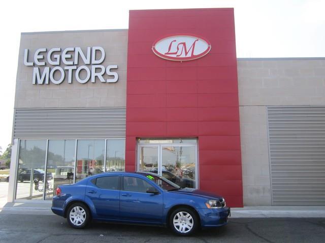 2014 Dodge Avenger  Miles 90282Color BLUE Stock 7709C VIN 1C3CDZAB2EN184359