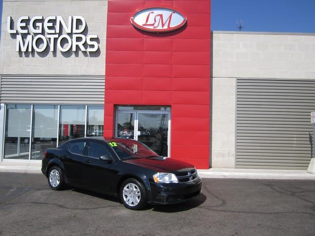 2012 Dodge Avenger  Miles 88022Color BLACK Stock 7712C VIN 1C3CDZAB6CN216260