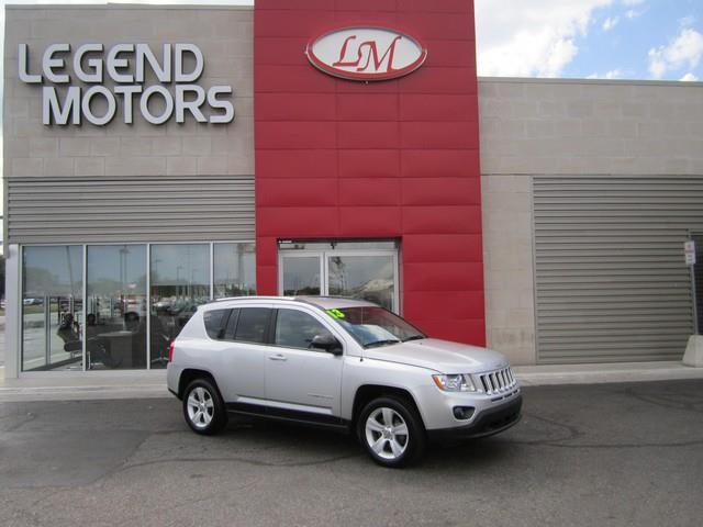 2013 Jeep Compass  Miles 74715Color SILVER Stock 7737C VIN 1C4NJCBAXDD169189