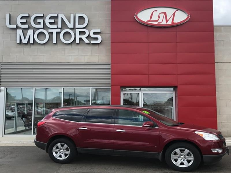 2010 Chevrolet Traverse  Miles 86103Color RED Stock 7769C VIN 1GNLVFED5AJ239172