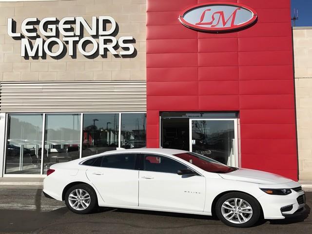 2017 Chevrolet Malibu  Miles 25723Color WHITE Stock 7785C VIN 1G1ZE5ST1HF113065