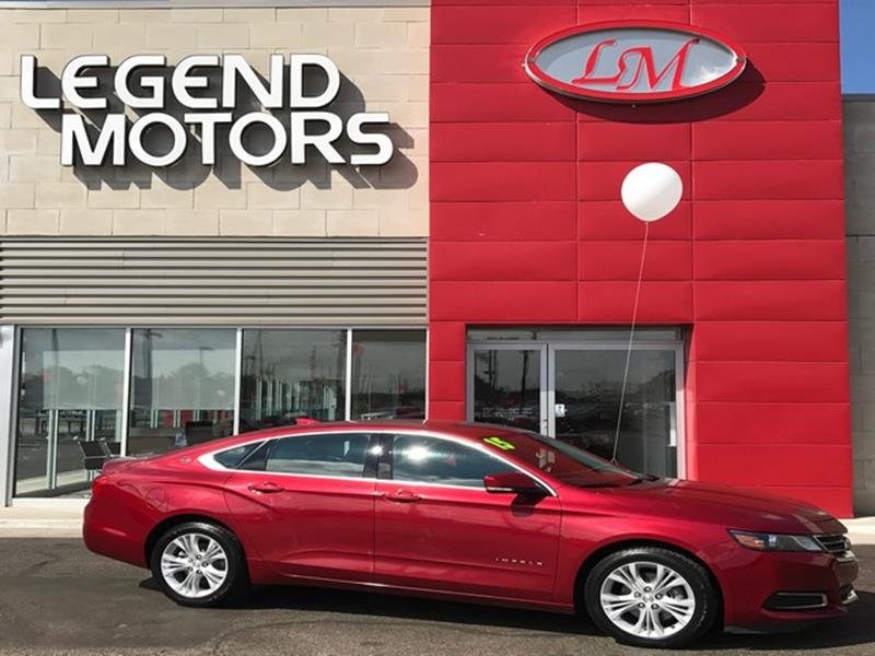 2015 Chevrolet Impala  Miles 54604Color RED Stock 7800C VIN 1G1115SL3FU114073